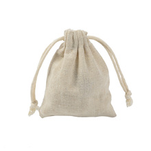 100pcs/lot New Wedding Gifts Pouch Bags 8x10cm Linen Drawstring Bag Birthday Party Favor Holder Makeup Jewelry Packaging