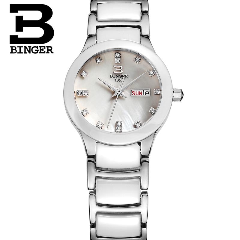 BINGER women Watches women top famous Brand Luxury Casual Quartz Watch female Ladies watches Women Wristwatches relogio feminino