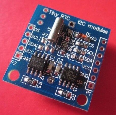 Freeshipping 20pcs/lot Tiny RTC I2C module DS1307 clock freeshipping rs232 to zigbee wireless module 1 6km cc2530 chip