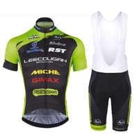 Ropa Bicicleta de carretera 2018 Team cycling clothing Summer short sleeve cycling suit Men's top and bottom bib shorts kit
