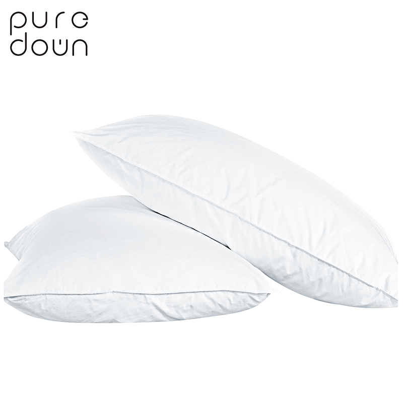 Puredown Goose Down Pillow Sleeping Pillow Home And Hotel