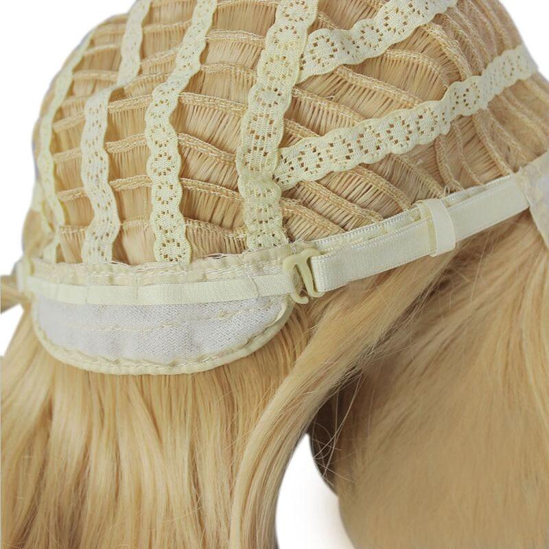 Gratis frakt 80cm lång RWBY Yang Xiao Long Yellow Cosplay - Syntetiskt hår - Foto 4