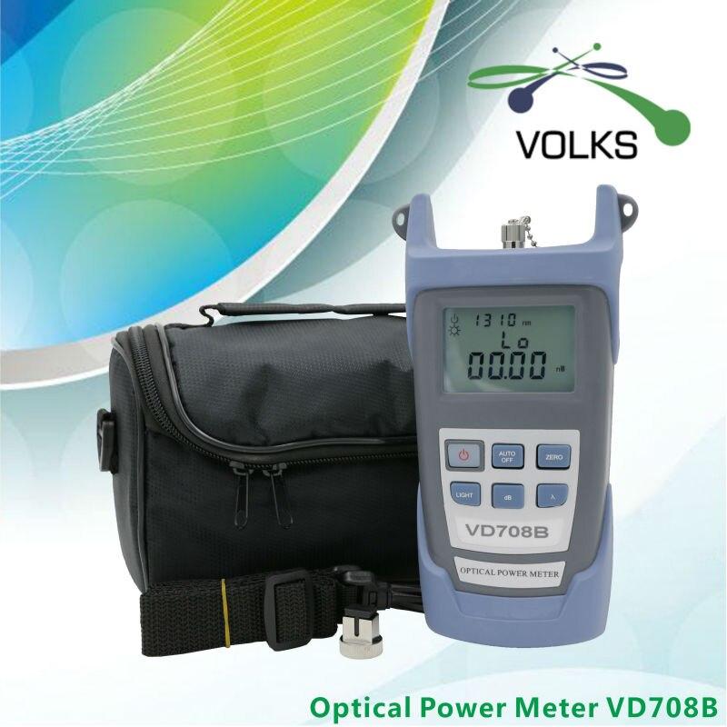 bilder für Fiber optische leistungsmesser VD708B-50 ~ + 26dBm mit Tasche kostenloser versand