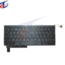 "5pcs/lot 2009-2012year for macbook pro 15"" inch A1286 HG Hungary Hungarian keyboard without backlight MC371 MC721 MD103"