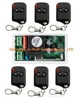 Hot Sales AC220V 10A 1CH 315MHz 433MHZ Wireless RF Remote Control Switch Teleswitch 6 Cat Eye
