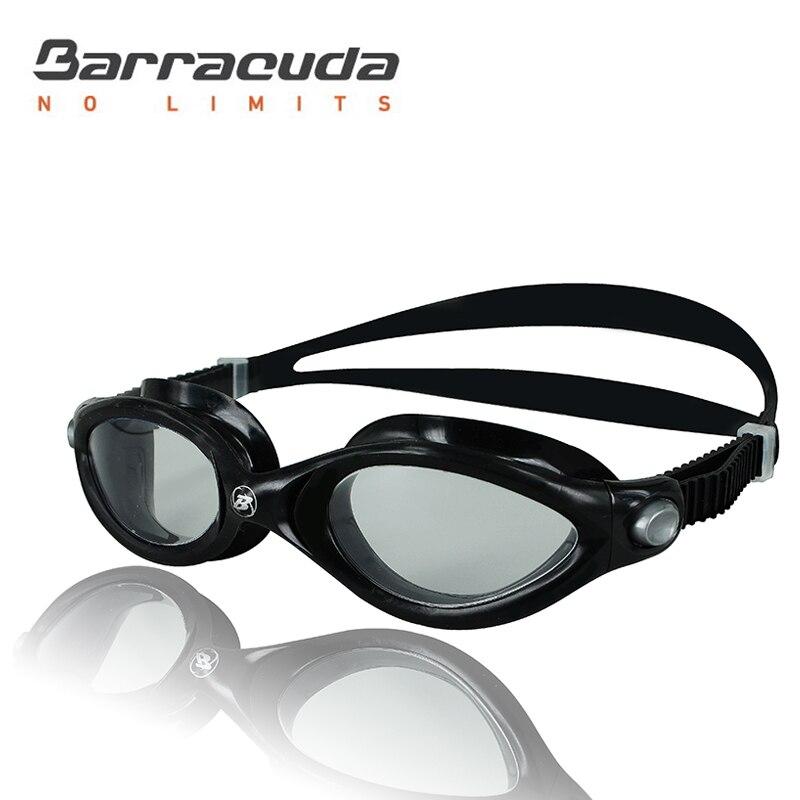 Barracuda plavecké brýle zakřivené čočky zefektivnění konstrukce proti UV záření ochrana proti UV záření z jednoho kusu pro dospělé muže ženy # 32420