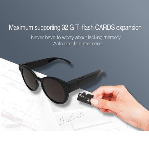 Mini HD Camera Smart WiFi Glasses 1080P Wireless Video Camcorder Eyewear DV Sunglasses Recorder Micro Cam Support Hidden TF Card Karachi