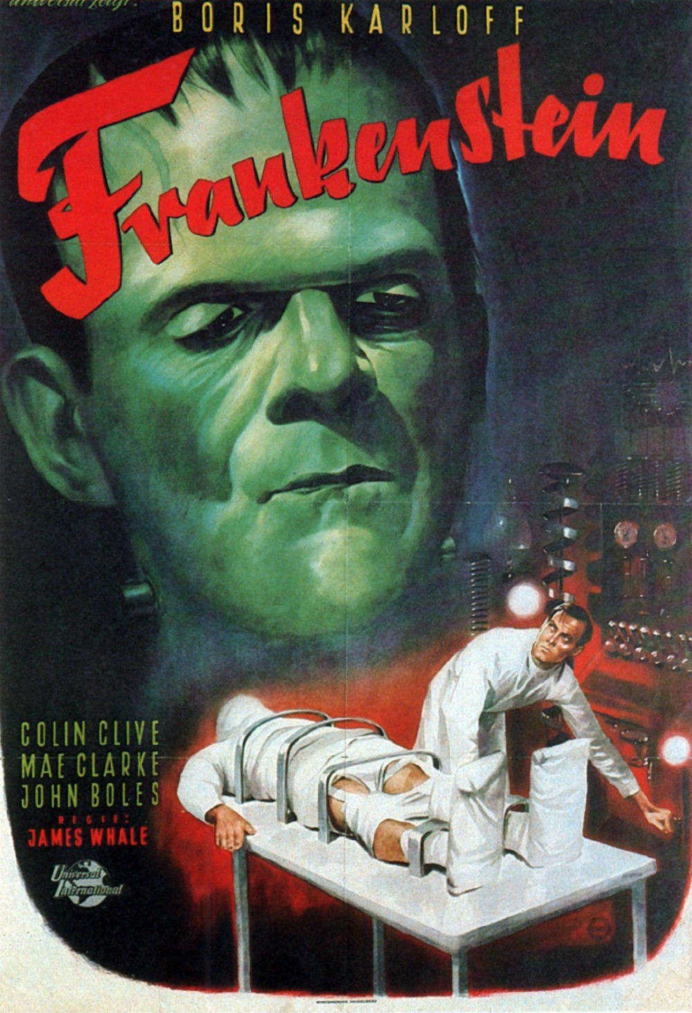 Online Buy Wholesale frankenstein movie poster from China ...