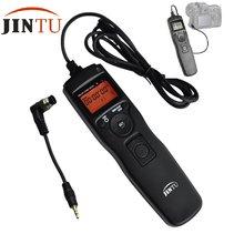 Jintu tempo lcd intervalômetro temporizador controle remoto n1 obturador liberação para nikon d800e d800 d700 d300s d850 d810 câmera