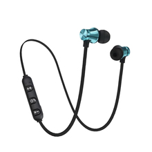 Blutooth Headset Running-Earphones Magnetic Hands-Free Sports No Calling Noise-Reduction