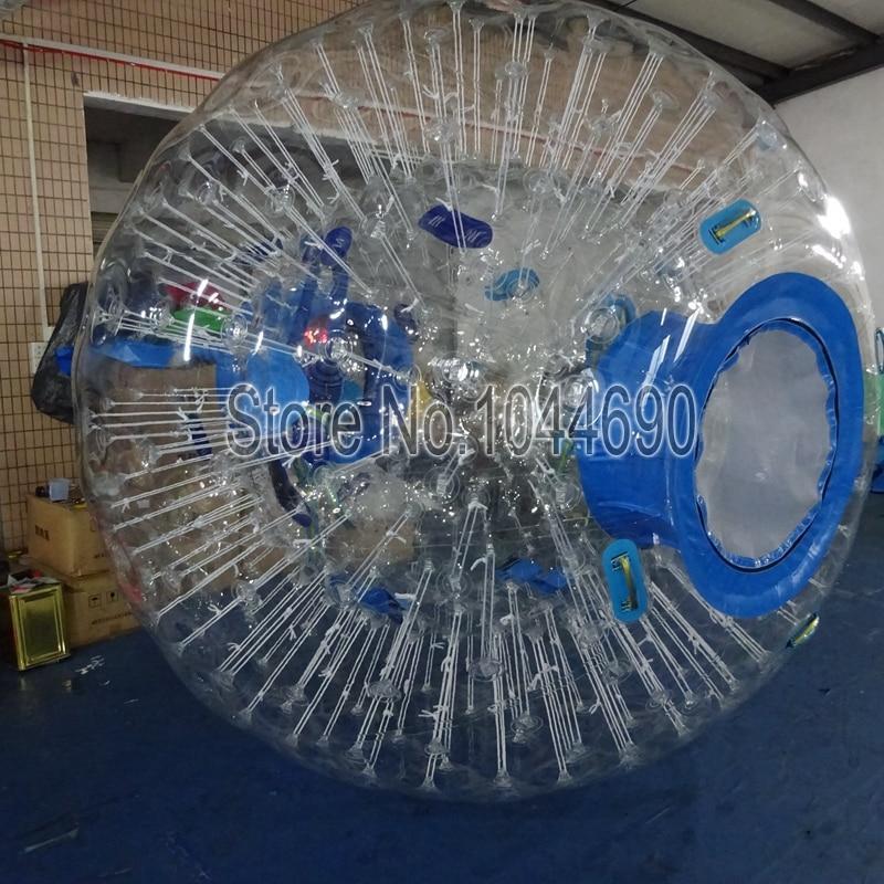 free shipping 3m clear TPU inflatable bumper ball zorb ball body ball