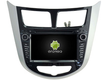 Android 8.0 octa core 4GB car dvd for HYUNDAI VERNA/ACCENT/SOLARIS 2011-2012 ips touch screen head units tape recorder radio gps