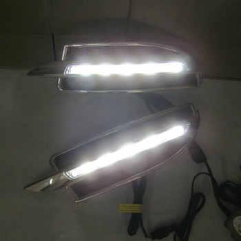 2PCs/set Car styling Daylight Daytime Running light led drl For Skoda Octavia A5 2010 2011 2012 2013 waterproof daylight