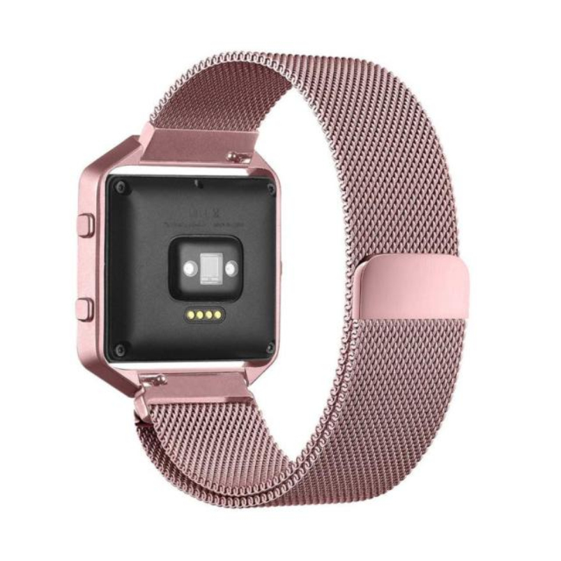 Excellent Quality For Fitbit Blaze S Milanese Magnetic Stainless Steel Watch Band + Metal Frame For Fitbit Blaze S Feb 21