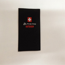 Directory factory price No MOQ  high density woven label for clothing