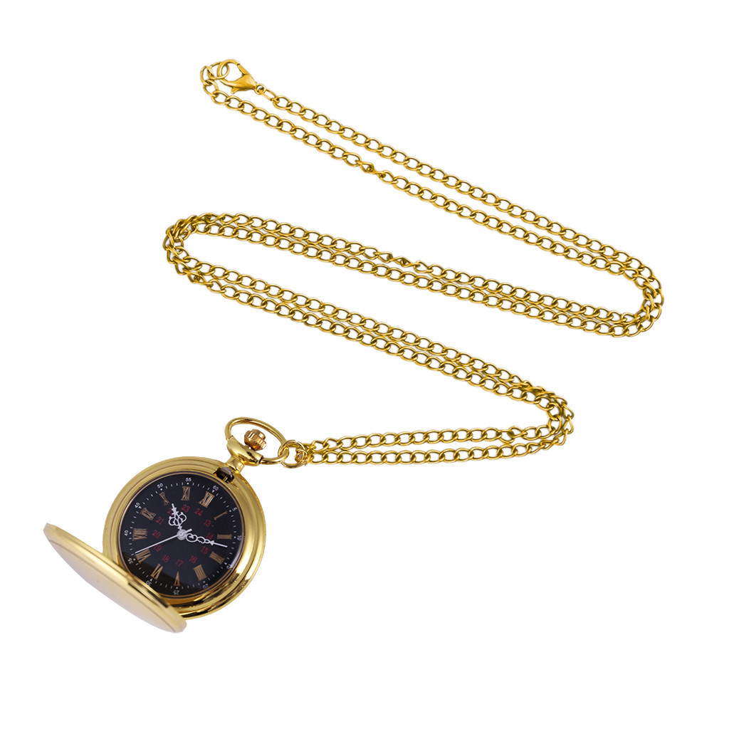 Men And Women Retro Quartz Hanging Table Commemorative Table Pocket Watch Man Woman Kid Gift Necklace Clock Couple Old Man Watch