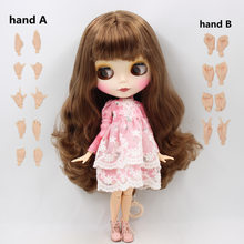 Nude Factory Blyth Doll Series No.BL9158 Brown hair Matte face small breast Azone Joint body Neo(China)