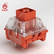 مفتاح صندوق kailh لوحة مفاتيح ميكانيكية ذاتية الصنع سلسلة RGB/SMD على النمط الصيني مزجج أصفر نبيل أخضر