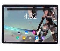 Бесплатная доставка 4G планшеты 10 2.5D экран Android 7,0 10 Core 6 1920 B rom 1200*10,1 ips металлическая крышка Wifi 4G дюймов планшетный ПК + подарок
