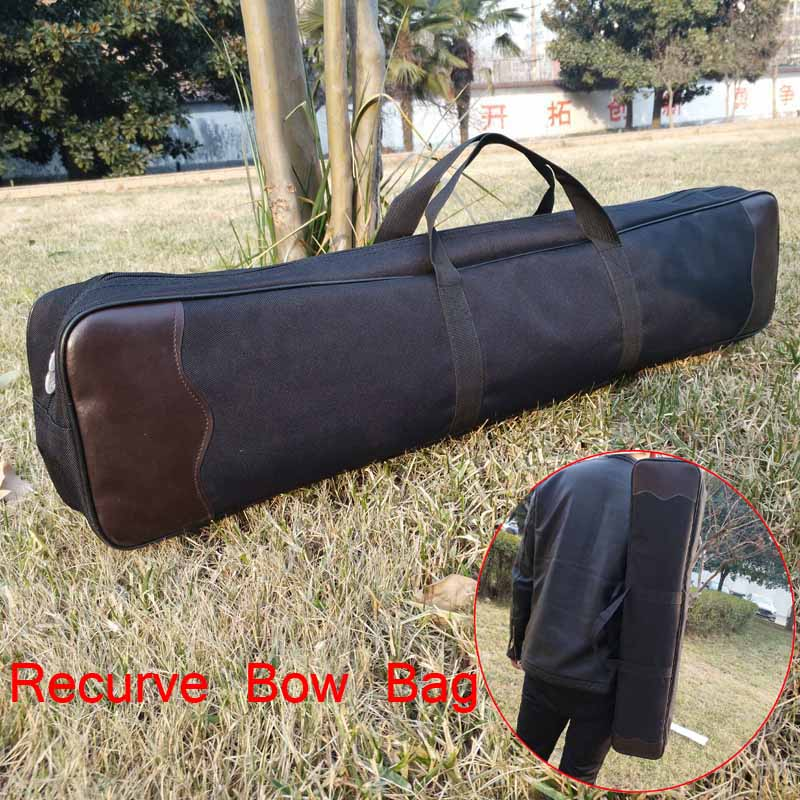все цены на Hunting Archery Portable Recurve Bow Bag Easy Carring Bow backpack Handle Shoulder Bow Protector Shooting Recurve Bow Cover онлайн