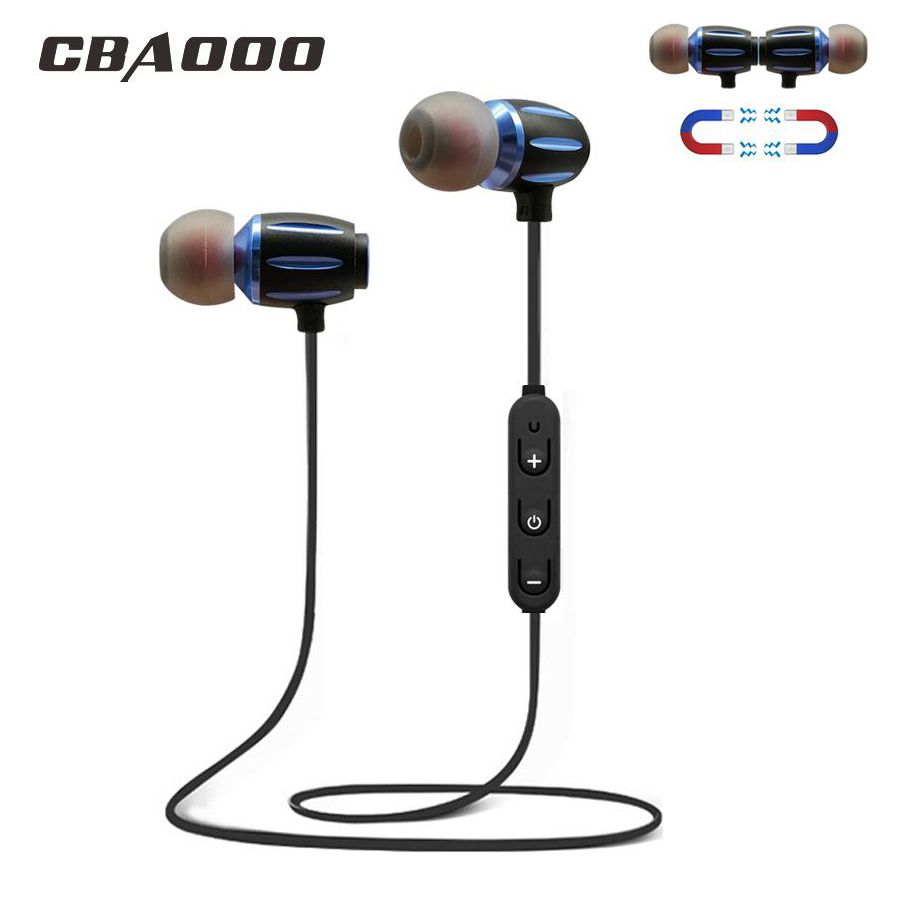 S11 Sports Bluetooth Earphone Wireless Headphones Bluetooth headset With Mic Magnetic Wireless Earbuds Earpiece For Mobile Phone magift bluetooth headphones wireless wired headset with microphone for sports mobile phone laptop free russia local delivery hot
