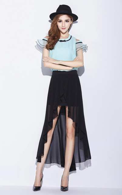 99cc6264784 placeholder Womens Summer Style Plus Size 3XS-8XL Sexy Split Long Black  Khaki White
