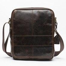 Men 's shoulder bag leisure leather men' s package wholesale trade first layer of leather Messenger bag shoulder bag