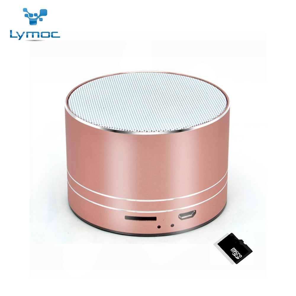 LYMOC A2 Pro Upgrade Wireless Bluetooth Speaker Metal Subwoofer HiFi Stereo Speakers AUX 3.5mm FM TF card Music Play for iPhone