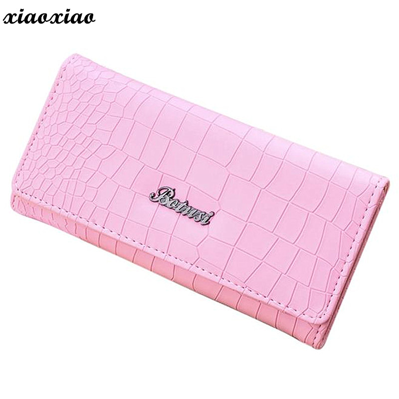 2018 Fashion Ladies Brand Handy Long Wallet Women Luxury Leather Credit Card Holder Money Wallets and Purse for Female Girls women big wallet and purse leather cheap money wallets purses card holder edc organizer wristlet knitting handbag luxury brand