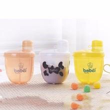 Scatole di stoccaggio in polvere per latte in polvere per neonati da latte di formula per il latte 3 dispenser per bambini