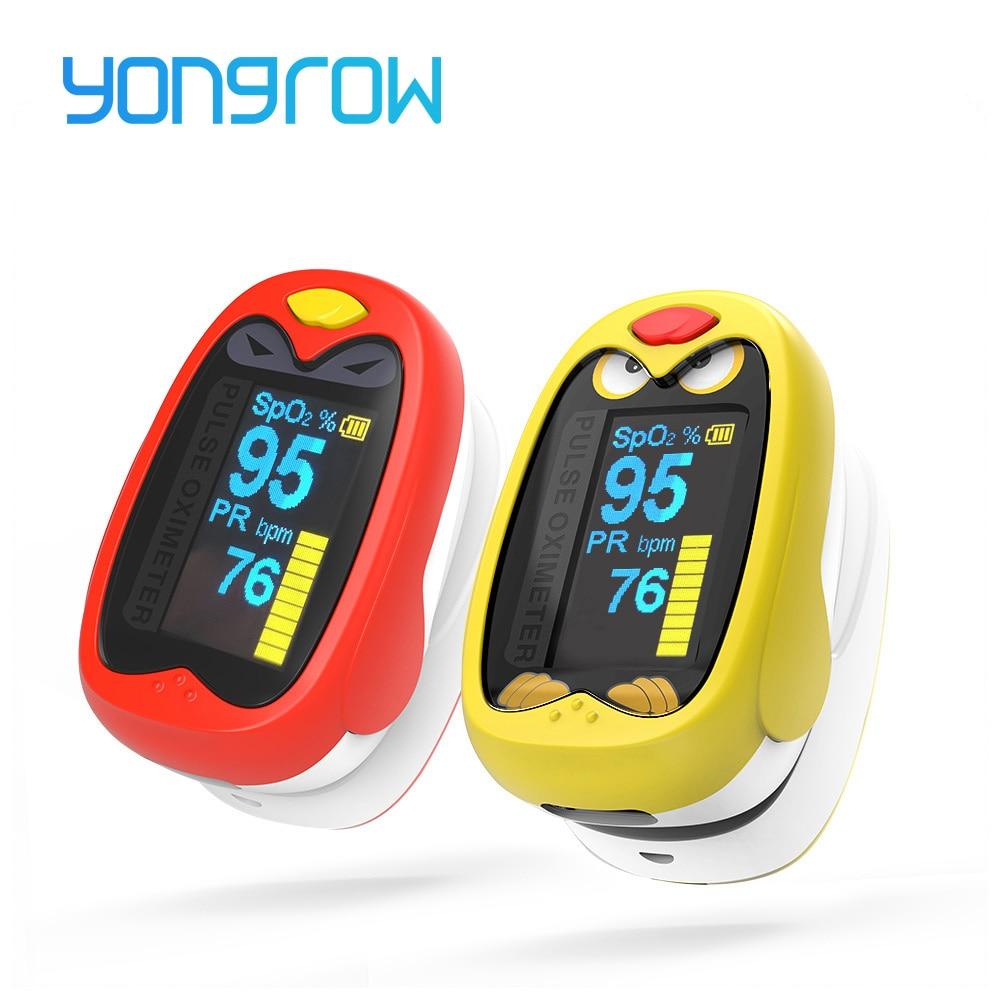 Yungrow ילדים ילדים אצבע Pulsse Oximeter עבור - בריאות