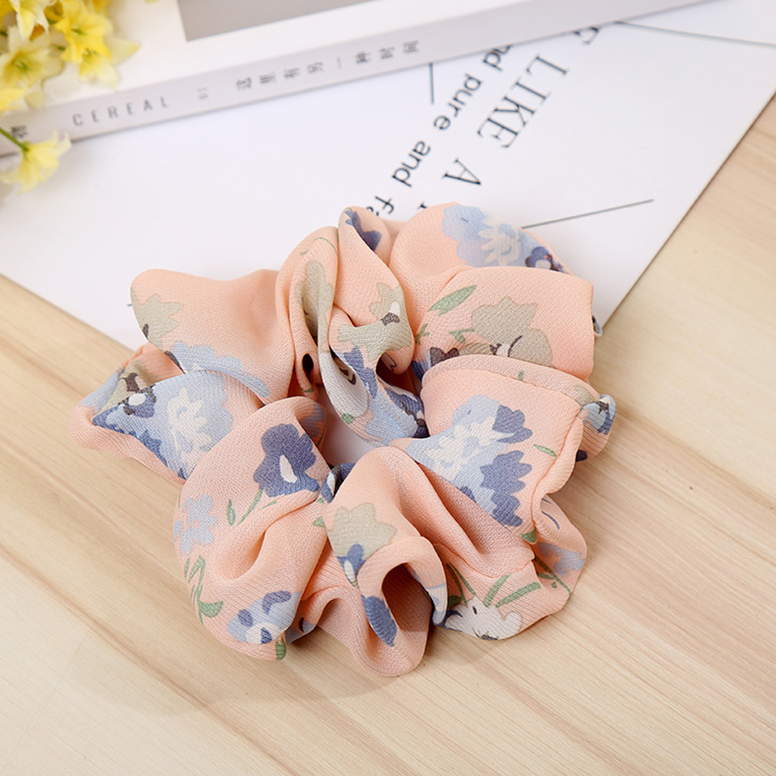 Women comfortable Elastic Hair Rope Ring Tie Scrunchie Ponytail Holder Band Headband Convenient hair band