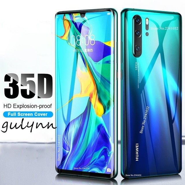 New 35D Front Back Transparent Full Cover Soft Hydrogel Film For Huawei Mate 20 P20 P30 Lite Honor 20 10 i Pro Screen Protector