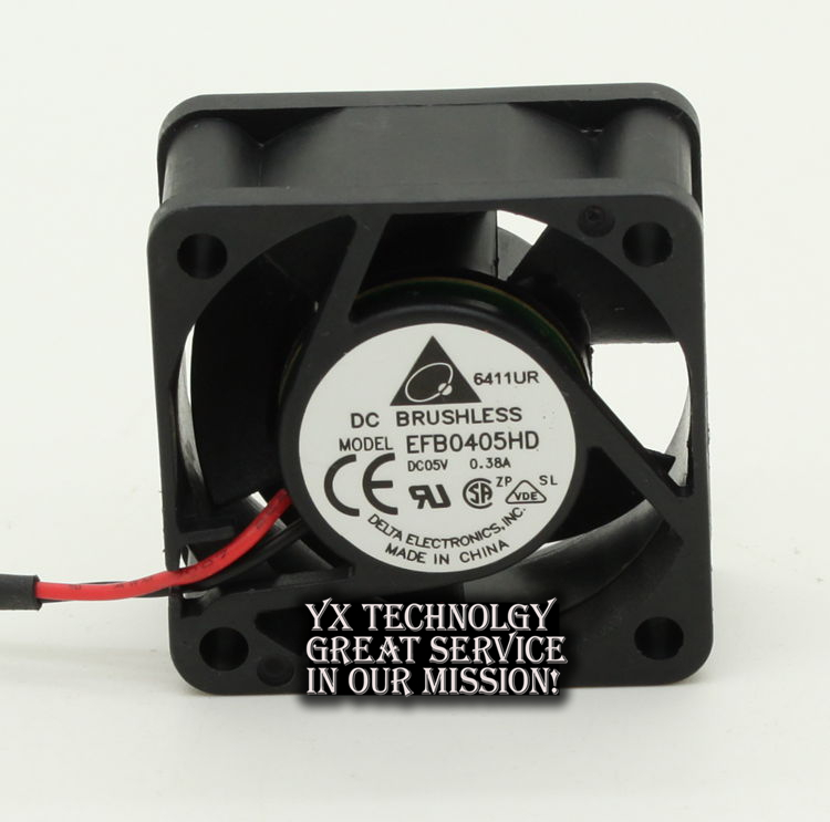 New and Original Taiwan EFB0405HD 4020 5V 0.38A server fans for Delta 40*40*20mm
