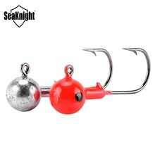 SeaKnight SK01 Fishing Hooks 3.5g 5g 7g 10g 14g 20g Lead Head Tungsten Steel Hooks Fishing Hook Sinker Fishing Accessory Tackles