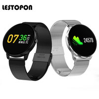 LESTOPON Bluetooth Smart Bracelet Fitness Tracker Band With Heart Rate Monitor Pedometer Blood Pressure Watches Waterproof