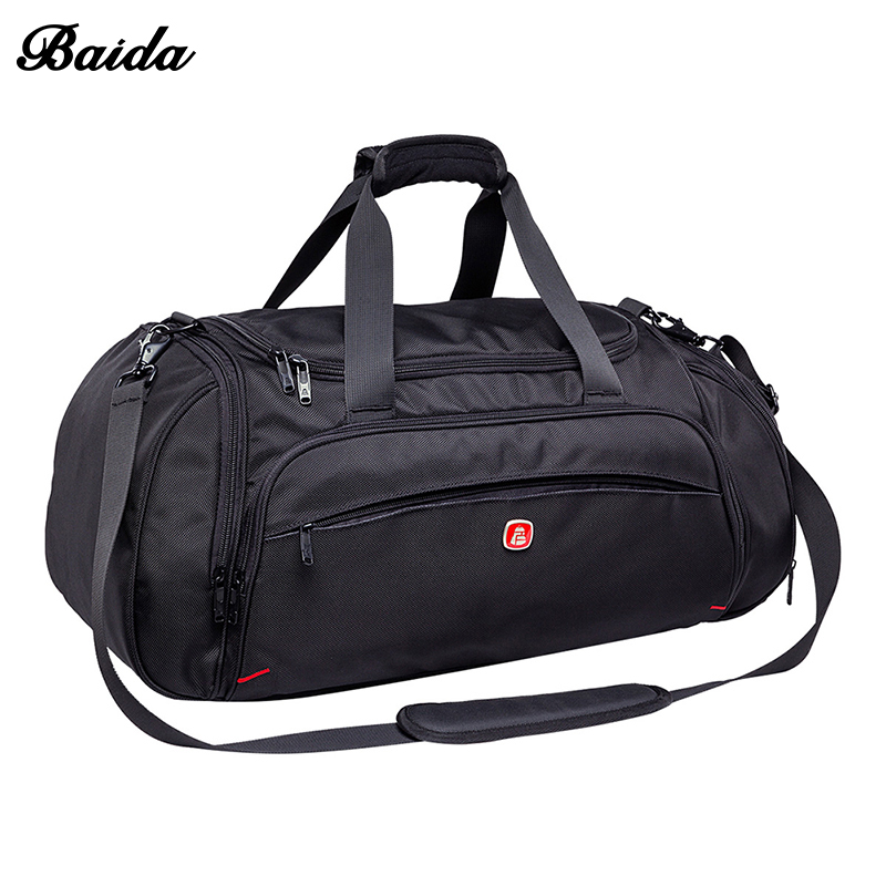 Fashion Oxford Waterproof Luggage Handbag Women Travel Bag High Quality Travel Duffle for Men Versatile Business Travelling Bag