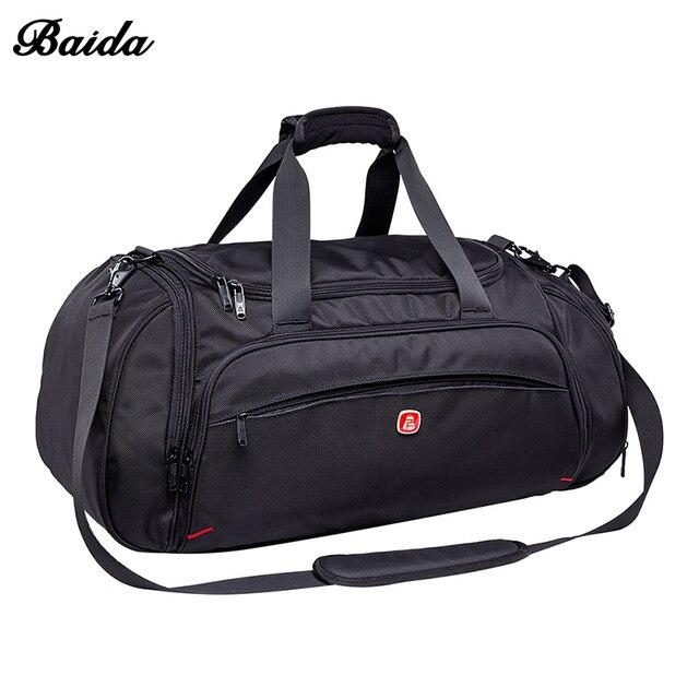 Moda oxford mujeres viajan del bolso del equipaje impermeable bolsa de viaje de alta calidad bolsa de viaje de lona para los hombres de negocios versátil