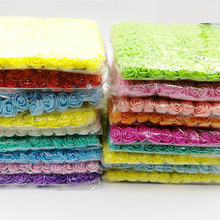 144pcs/packs 2cm Mini Foam Rose Artificial Flower Bouquet Home Wedding Decoration Scrapbooking DIY Fake