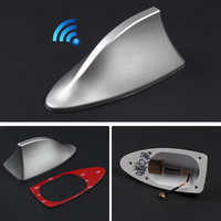 Car Accessories Sticker Blank Radio Shark Fin Antenna Signal Extend For VW Volkswagen MK4 MK5 MK6 Golf 5 6 7 Polo Passat