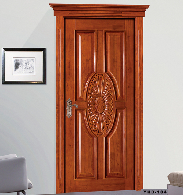 Factory price customized latest design wooden door interior door room door   Aliexpress com Buy Factory. Latest Design Of Wooden Door