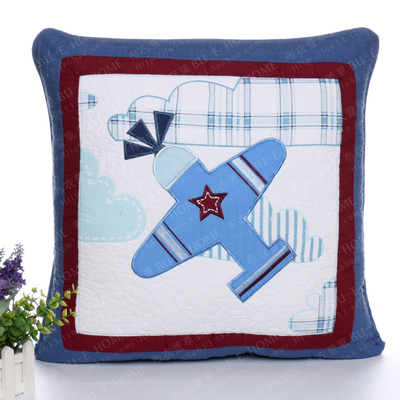50*50cm Boy child cartoon embroidery cushion cover Cushion cotton sofa bed car home room Dec wholesale FG209