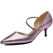 Schuhe Frau MOOLECOLE 2016 Mode Neue Frühjahr/Sommer Frauen Pumpt Spitz Dünne Fersen Frauen Schuhe Frauen High Heels 8361-46