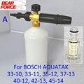 Bocal de espuma/sabão Neve Lance & Filtro De Água para Bosche AQT 33-10, 33-11, 35-12, 37-13, 40-12, 42-13, 45-14 de Alta Pressão máquina de Lavar