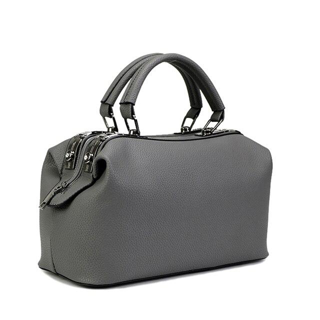 Women Tote Bag Boston Handbags Women's Shoulder Bags 2017 New Ladies Top-handle Bags For Women's Fashion Bags Female Designer