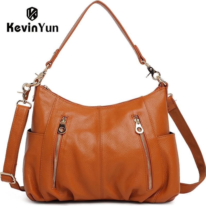KEVIN YUN genuine leather bags women leather handbags shoulder bag female hand bag women messenger bags kevin alan milne heategu mis muutis kõike