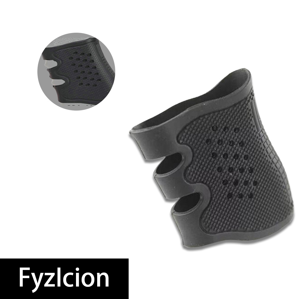 Image 3 - Hunting Tactics Anti Slip Grip Cover Glock Holster 17 19 20 21 22 31 32 and Most AR15 M4 AK 47 Glock Holster Kydex-in Hunting Gun Accessories from Sports & Entertainment