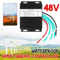 High Efficiency 1500W Max 48V Wind Turbines Generator Charge Controller Waterproof IP67 Wind Generator Controller