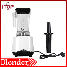 1.5L Blender White Electric Fruit Juice 5 Speed Kitchen Tool Tabletop Type 1500W Food Processor