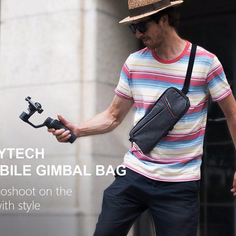 PGYTECH Zhiyun smooth 4 q dji osmo mobile 2 gimbal protable carrying bag shoulder bag case for vimble 2 freevision vilta m G5 G6 цена
